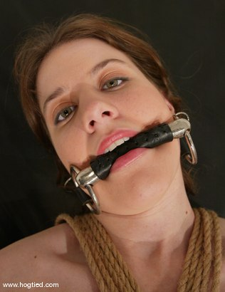 Photo number 3 from Leah Marie shot for Hogtied on Kink.com. Featuring Leah Marie in hardcore BDSM & Fetish porn.