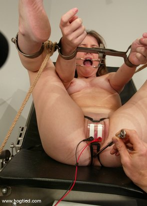 Photo number 6 from Leah Marie shot for Hogtied on Kink.com. Featuring Leah Marie in hardcore BDSM & Fetish porn.