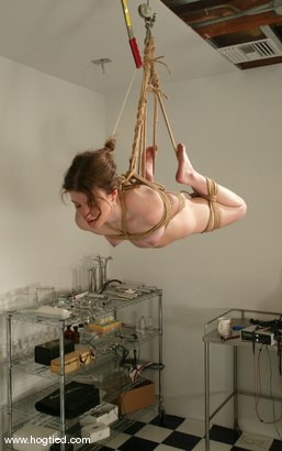 Photo number 14 from Leah Marie shot for Hogtied on Kink.com. Featuring Leah Marie in hardcore BDSM & Fetish porn.