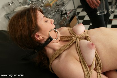 Photo number 2 from Leah Marie shot for Hogtied on Kink.com. Featuring Leah Marie in hardcore BDSM & Fetish porn.