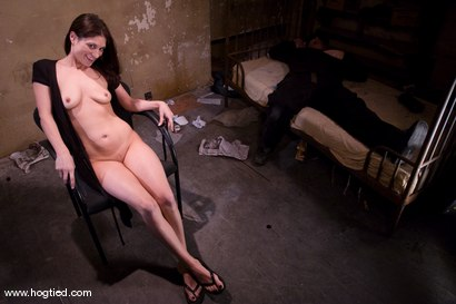 Photo number 15 from Welcome Tabitha Tucker to her first Hogtied experience.<br>Fantasy Role Play shot for Hogtied on Kink.com. Featuring Tabatha Tucker in hardcore BDSM & Fetish porn.