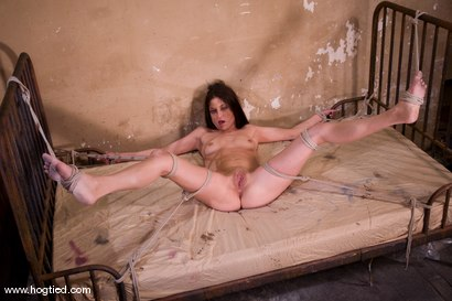 Photo number 8 from Welcome Tabitha Tucker to her first Hogtied experience.<br>Fantasy Role Play shot for Hogtied on Kink.com. Featuring Tabatha Tucker in hardcore BDSM & Fetish porn.