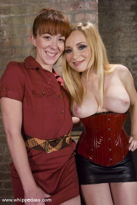 Photo number 15 from Trinity Post shot for Whipped Ass on Kink.com. Featuring Aiden Starr and Trinity Post in hardcore BDSM & Fetish porn.