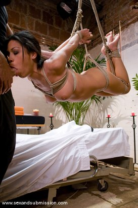 Photo number 6 from The Massage shot for Sex And Submission on Kink.com. Featuring Steven St. Croix and Cassandra Cruz in hardcore BDSM & Fetish porn.