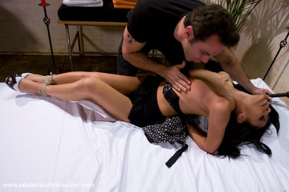 Photo number 4 from The Massage shot for Sex And Submission on Kink.com. Featuring Steven St. Croix and Cassandra Cruz in hardcore BDSM & Fetish porn.