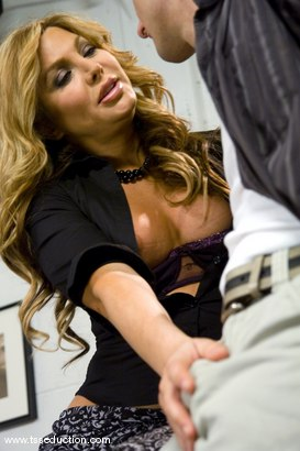 Photo number 2 from CARMEN CRUZ shot for TS Seduction on Kink.com. Featuring Carmen Cruz and Steven Sweat in hardcore BDSM & Fetish porn.