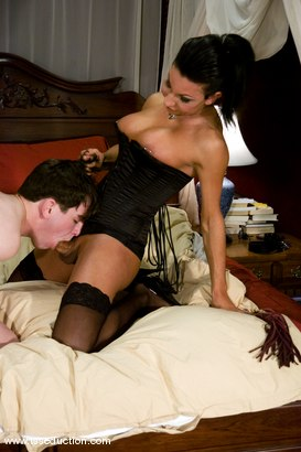 Photo number 4 from ARIEL EVERITTS shot for TS Seduction on Kink.com. Featuring Ariel Everitts and Dorian in hardcore BDSM & Fetish porn.