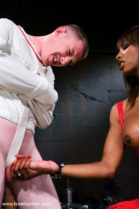 Photo number 5 from Natassia Dream and Casper Coxx shot for TS Seduction on Kink.com. Featuring Natassia Dreams and Casper Coxx in hardcore BDSM & Fetish porn.