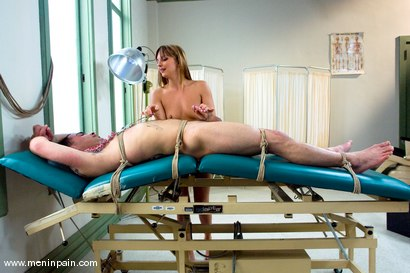 Photo number 10 from The Check Up shot for Men In Pain on Kink.com. Featuring Lexi Love and Rico in hardcore BDSM & Fetish porn.
