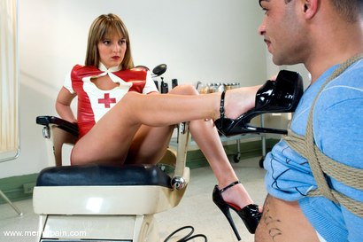 Photo number 4 from The Check Up shot for Men In Pain on Kink.com. Featuring Lexi Love and Rico in hardcore BDSM & Fetish porn.