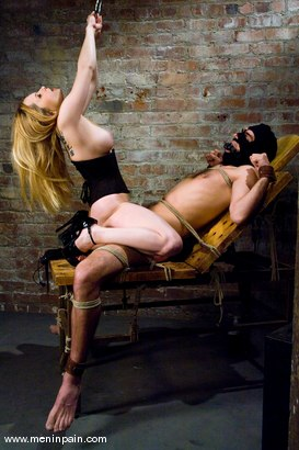 Photo number 12 from Gorgeous Cruelty shot for Men In Pain on Kink.com. Featuring Aiden Starr and Lefty in hardcore BDSM & Fetish porn.