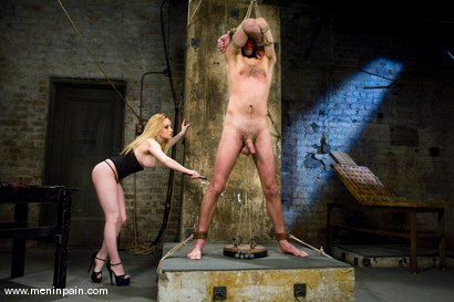 Photo number 3 from Gorgeous Cruelty shot for Men In Pain on Kink.com. Featuring Aiden Starr and Lefty in hardcore BDSM & Fetish porn.