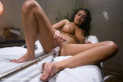 Photo number 3 from Smoking hot new comer, Charley Chase fucks the machines full throttle shot for Fucking Machines on Kink.com. Featuring Charley Chase in hardcore BDSM & Fetish porn.
