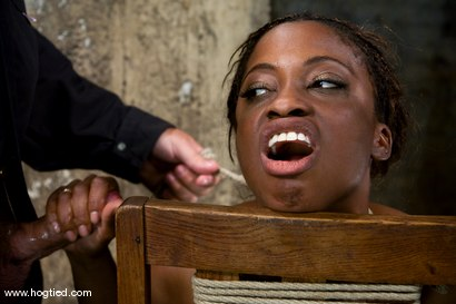 Photo number 13 from Hogtied welcome sexy MILF Monique for her<br> first hardcore bondage experience. shot for Hogtied on Kink.com. Featuring Monique in hardcore BDSM & Fetish porn.