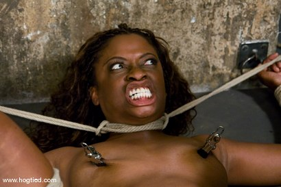 Photo number 6 from Hogtied welcome sexy MILF Monique for her<br> first hardcore bondage experience. shot for Hogtied on Kink.com. Featuring Monique in hardcore BDSM & Fetish porn.