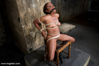 Photo number 10 from Hogtied welcome sexy MILF Monique for her<br> first hardcore bondage experience. shot for Hogtied on Kink.com. Featuring Monique in hardcore BDSM & Fetish porn.