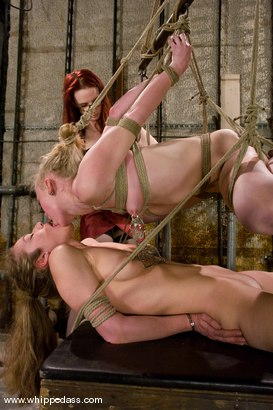 Photo number 7 from Two Slave Bitches shot for Whipped Ass on Kink.com. Featuring Jade Marxxx, Claire Adams and Sarah Jane Ceylon in hardcore BDSM & Fetish porn.