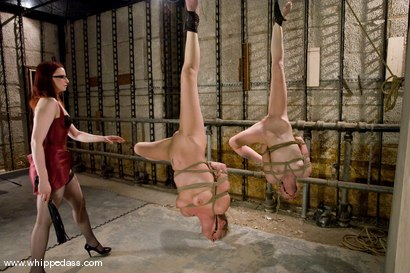 Photo number 8 from Two Slave Bitches shot for Whipped Ass on Kink.com. Featuring Jade Marxxx, Claire Adams and Sarah Jane Ceylon in hardcore BDSM & Fetish porn.