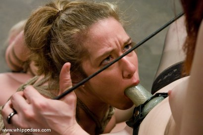 Photo number 11 from Two Slave Bitches shot for Whipped Ass on Kink.com. Featuring Jade Marxxx, Claire Adams and Sarah Jane Ceylon in hardcore BDSM & Fetish porn.