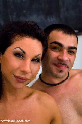 Photo number 14 from The Tutor shot for TS Seduction on Kink.com. Featuring Ariel Everitts and Rico in hardcore BDSM & Fetish porn.