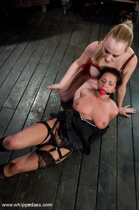 Photo number 6 from Charley Chase shot for Whipped Ass on Kink.com. Featuring Charley Chase and Annette Schwarz in hardcore BDSM & Fetish porn.