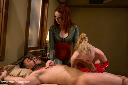 Photo number 12 from Sex and Pain shot for Men In Pain on Kink.com. Featuring Claire Adams, Sarah Jane Ceylon and Rico in hardcore BDSM & Fetish porn.