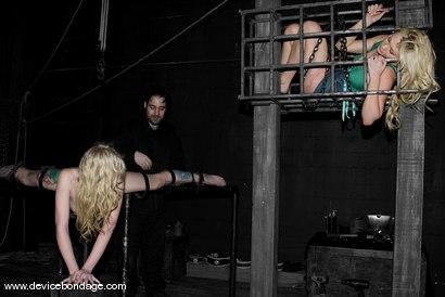 Photo number 6 from Sarah Jane Ceylon Live, Part 1 shot for Device Bondage on Kink.com. Featuring Sarah Jane Ceylon and Samantha Sin in hardcore BDSM & Fetish porn.