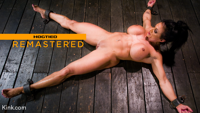 PecPanther: Nationally-ranked Bodybuilder Bound and Made to Cum