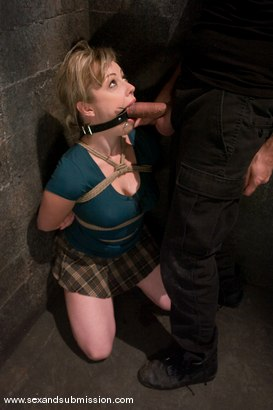 Photo number 2 from Claire Dames and Adrianna Nicole shot for Sex And Submission on Kink.com. Featuring Steve Holmes, Claire Dames and Adrianna Nicole in hardcore BDSM & Fetish porn.