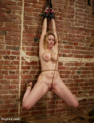 Photo number 4 from Maklaryn shot for Hogtied on Kink.com. Featuring Maklaryn in hardcore BDSM & Fetish porn.