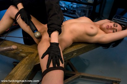 Photo number 12 from Gwen Diamond - Bound and Sassy shot for Fucking Machines on Kink.com. Featuring Gwen Diamond in hardcore BDSM & Fetish porn.