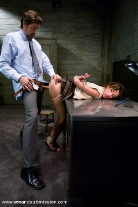 Photo number 6 from Slut Punishment shot for Sex And Submission on Kink.com. Featuring Steve Holmes and Mya Nichole in hardcore BDSM & Fetish porn.