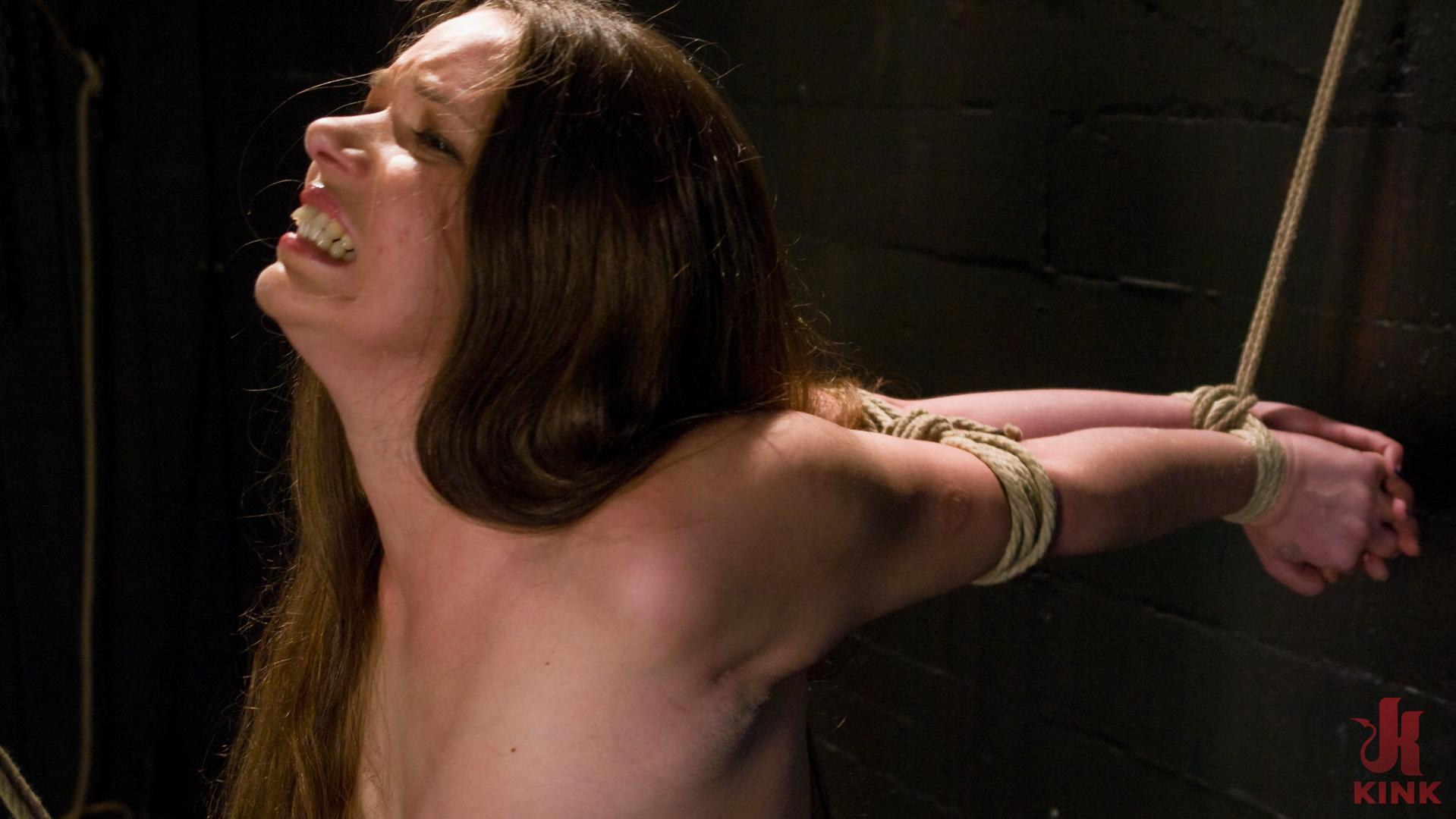 Photo number 3 from Devaun: Girl Next Door Survives a Hogtied Classic Shoot. shot for Hogtied on Kink.com. Featuring Devaun in hardcore BDSM & Fetish porn.