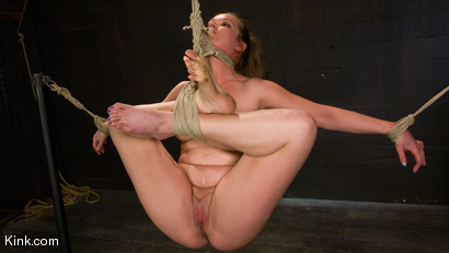 Photo number 5 from Devaun: Girl Next Door Survives a Hogtied Classic Shoot. shot for Hogtied on Kink.com. Featuring Devaun in hardcore BDSM & Fetish porn.