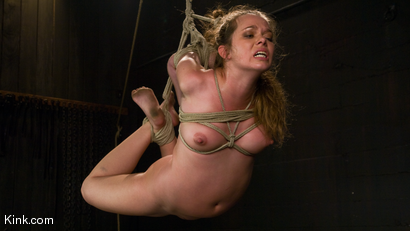 Photo number 7 from Devaun: Girl Next Door Survives a Hogtied Classic Shoot. shot for Hogtied on Kink.com. Featuring Devaun in hardcore BDSM & Fetish porn.