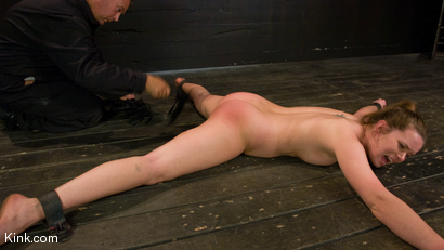 Photo number 8 from Devaun: Girl Next Door Survives a Hogtied Classic Shoot. shot for Hogtied on Kink.com. Featuring Devaun in hardcore BDSM & Fetish porn.