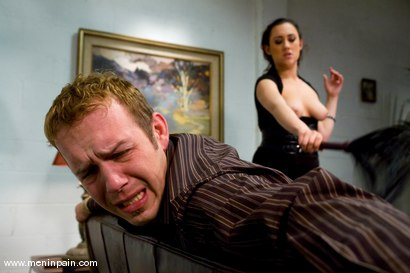Photo number 5 from Worthless Husband shot for Men In Pain on Kink.com. Featuring Gwen Diamond and Billy in hardcore BDSM & Fetish porn.