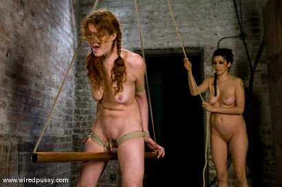 Photo number 8 from PigTails shot for Wired Pussy on Kink.com. Featuring Sabrina Fox in hardcore BDSM & Fetish porn.