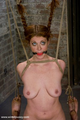 Photo number 5 from PigTails shot for Wired Pussy on Kink.com. Featuring Sabrina Fox in hardcore BDSM & Fetish porn.