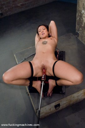 Photo number 1 from Hot Asian babe, Jandi Lin takes on the machines shot for Fucking Machines on Kink.com. Featuring Jandi Lin in hardcore BDSM & Fetish porn.