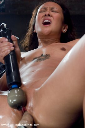 Photo number 11 from Hot Asian babe, Jandi Lin takes on the machines shot for Fucking Machines on Kink.com. Featuring Jandi Lin in hardcore BDSM & Fetish porn.