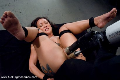 Photo number 4 from Hot Asian babe, Jandi Lin takes on the machines shot for Fucking Machines on Kink.com. Featuring Jandi Lin in hardcore BDSM & Fetish porn.