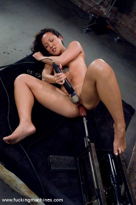 Photo number 6 from Hot Asian babe, Jandi Lin takes on the machines shot for Fucking Machines on Kink.com. Featuring Jandi Lin in hardcore BDSM & Fetish porn.
