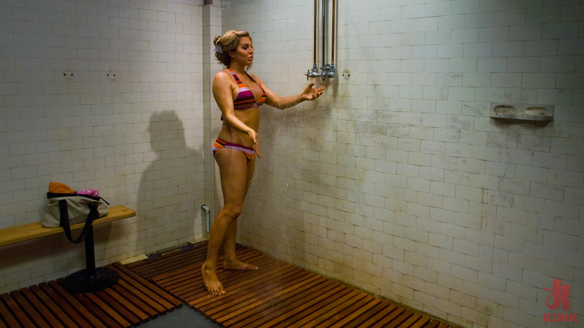 Photo number 2 from Carmen Cruz: Seduction in the Shower shot for TS Seduction on Kink.com. Featuring Carmen Cruz and Lobo in hardcore BDSM & Fetish porn.