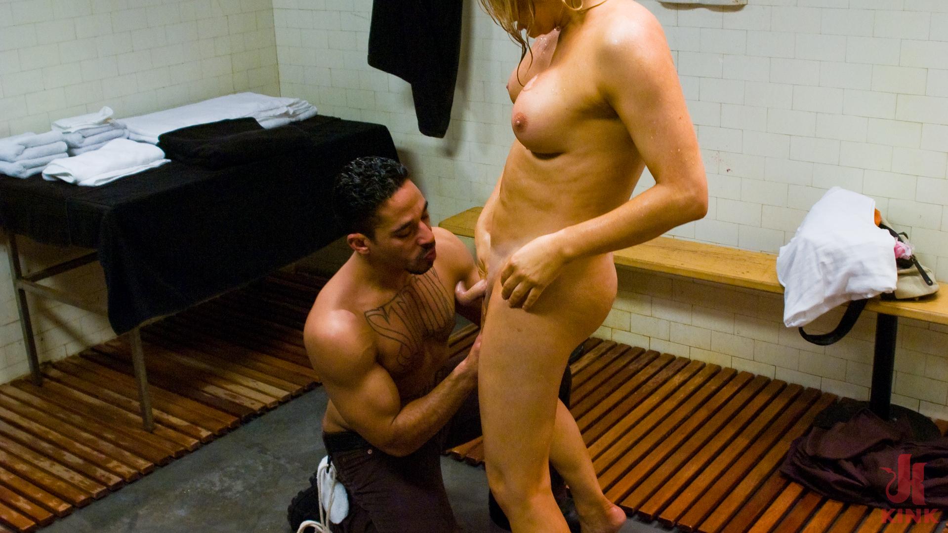 Photo number 3 from Carmen Cruz: Seduction in the Shower shot for TS Seduction on Kink.com. Featuring Carmen Cruz and Lobo in hardcore BDSM & Fetish porn.