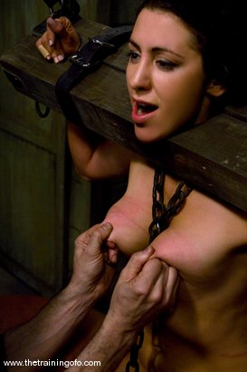 Photo number 14 from The Training of Princess Donna, Day One shot for The Training Of O on Kink.com. Featuring Princess Donna Dolore and Lobo in hardcore BDSM & Fetish porn.