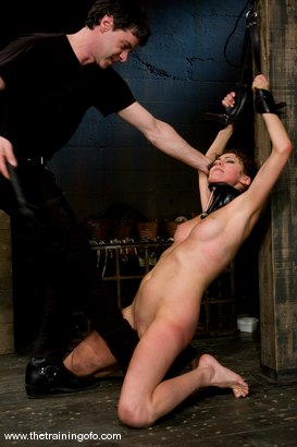 Photo number 4 from The Training of Princess Donna, Day Three shot for The Training Of O on Kink.com. Featuring Princess Donna Dolore and Lobo in hardcore BDSM & Fetish porn.