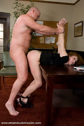 Photo number 8 from The Promotion shot for Sex And Submission on Kink.com. Featuring Mark Davis and Sabrina Fox in hardcore BDSM & Fetish porn.