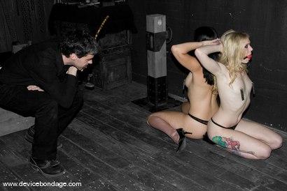 Photo number 2 from January Seraph and Sarah Jane Ceylon Live shot for Device Bondage on Kink.com. Featuring January Seraph and Sarah Jane Ceylon in hardcore BDSM & Fetish porn.