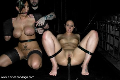Photo number 3 from Live Show Edit shot for Device Bondage on Kink.com. Featuring Claire Dames and Alexa Jordan in hardcore BDSM & Fetish porn.